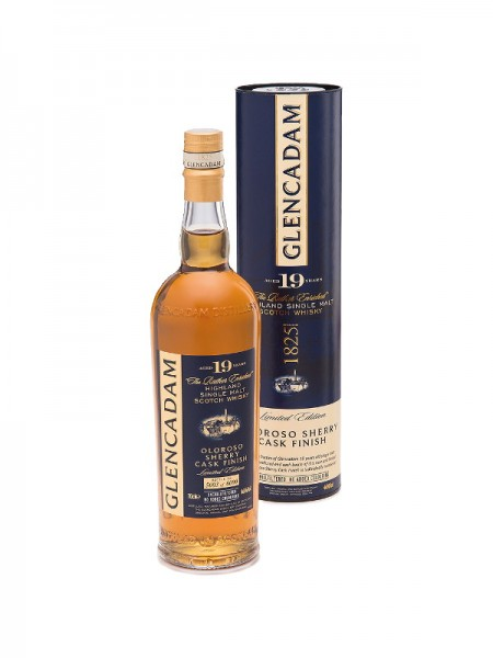 Glencadam Highland Single Malt Whisky Oloroso Sherry Wood Finish 19 Years (0,7l)