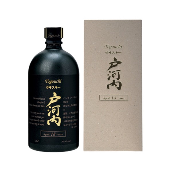 Togouchi 18 Years old Japanese Blended Whisky (0,7l)