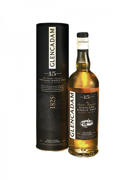 Glencadam Highland Single Malt Whisky 15 Years unchillfiltered (0,7l)