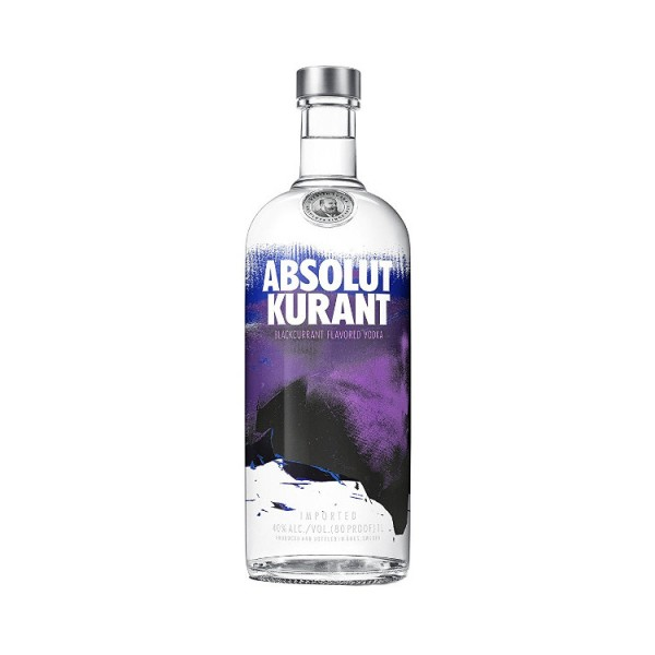 Absolut Kurant Flavoured Vodka (1,0l)