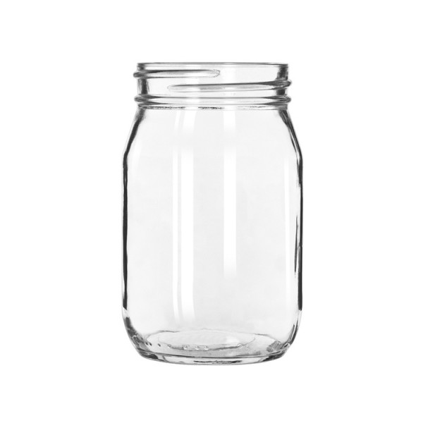 Moonshine Glas (Mason Jar 473ml)