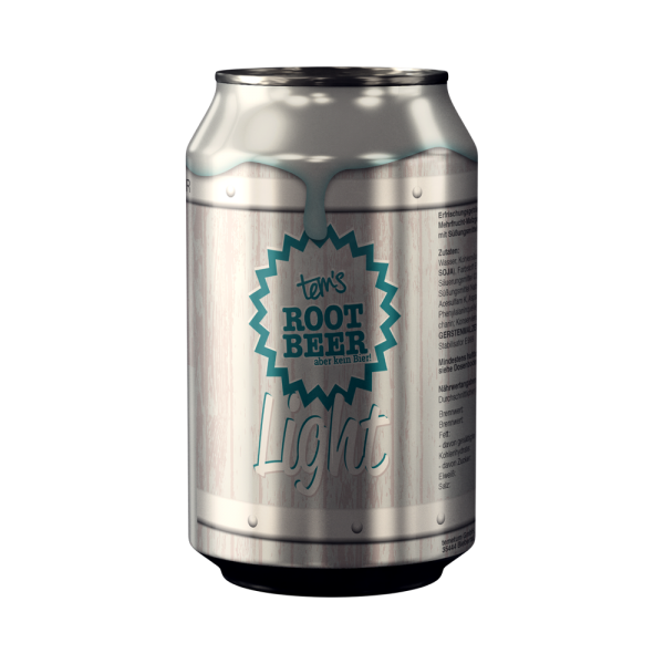 Tem's Root Beer Light in Dose (0,33l)