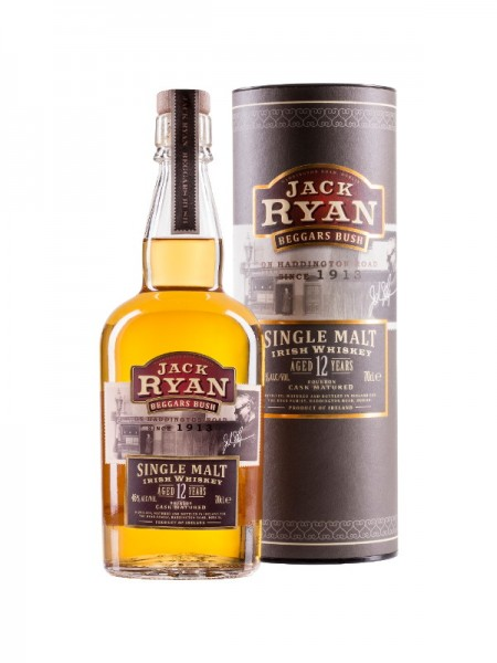 Jack Ryan Beggars Bush Irish Single Malt Whiskey Aged 12 Years (0,7l)