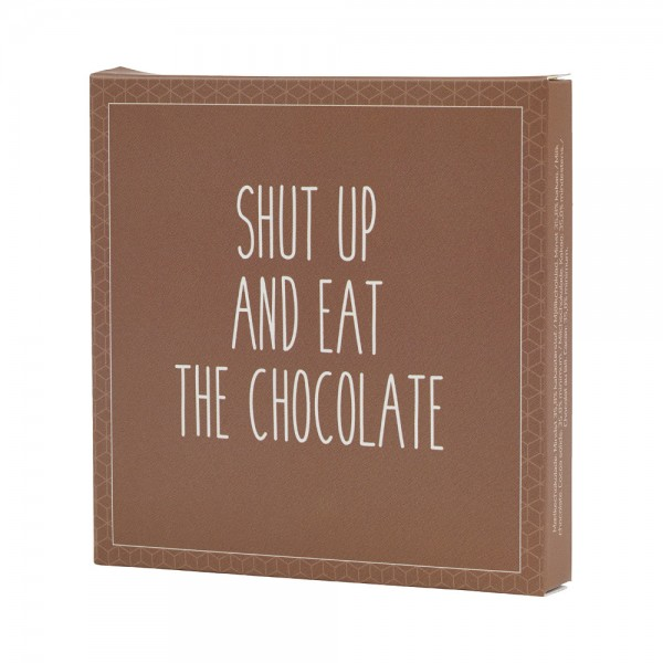 Konnerup & Co. Chokolatier Shut up and eat the chocolate - Milchschokolade (50g)