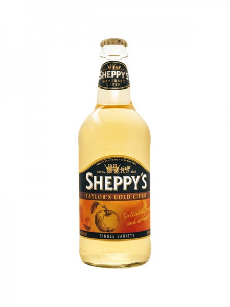 Sheppy's Taylor's Gold Single Variety Apple Cider (0,5l)