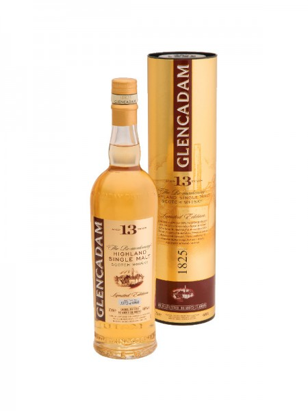 Glencadam Single Malt Whisky Aged 13 Years The Re-awakening Limited Edition (0,7l)