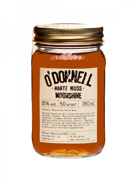 O'Donnell Moonshine Harte Nuss (0,35l)