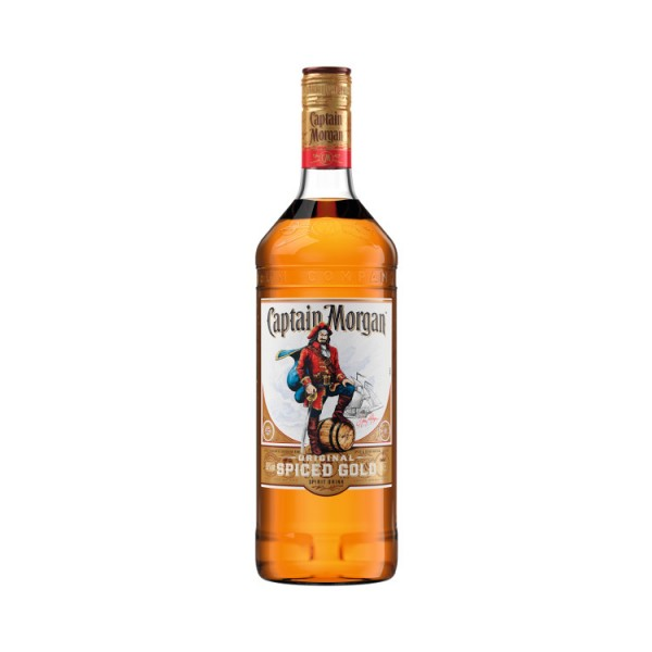 Captain Morgan Spiced Gold (1,0l)